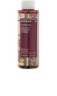 Гель для душа vanilla - Korres