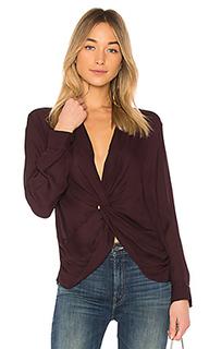 Блуза с v-вырезом mariposa - LAGENCE