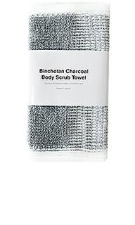 Скраб для тела binchotan charcaol - MORIHATA