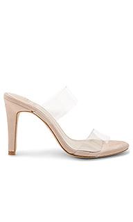 Туфли на каблуке с открытым носком bacall - RAYE