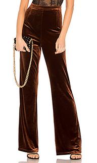 Бархатные брюки standard - WYLDR