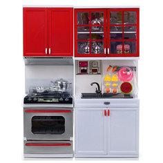 "Набор мебели для куклы DollyToy ""Стильная кухня"" (свет, звук)"