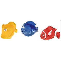 """Набор игрушек для ванны Mioshi """"Коралловый риф"""", 3 шт."""