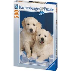 Пазл «Белые щенки» 500 шт Ravensburger