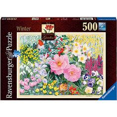 Пазл «Зимний сад» 500 шт Ravensburger