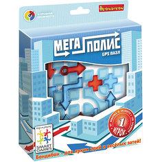 """Игра-головоломка """"Мегаполис -GPS пазл"""" Bondibon"""