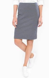 Хлопковая юбка-карандаш Gant