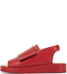 Красные кожаные сандалии Filipe Sousa