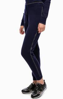 Синие трикотажные брюки Liu Jo Sport