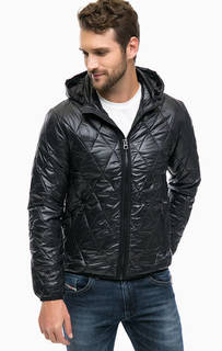 Куртка со съемным капюшоном на молнии Replay