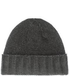 Серая шерстяная шапка Canadian