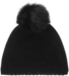 Шерстяная вязаная шапка с помпоном Canadian