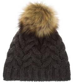 Трикотажная вязаная шапка с помпоном Canadian