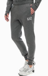 Серые брюки с манжетами EA7
