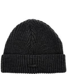 Серая шапка-бини Drykorn