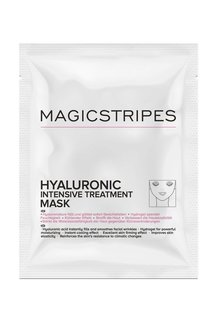 Маска с гиалуроновой кислотой Hyaluronic Intensive Treatment Mask, 3 шт. Magicstripes