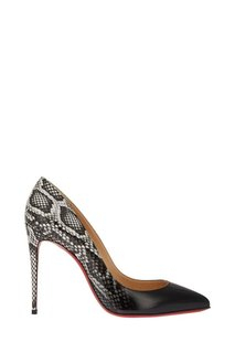 Туфли с принтом Pigalle Follies 100 Christian Louboutin