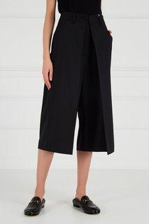 Черные шорты-oversize Mm6 Maison Margiela