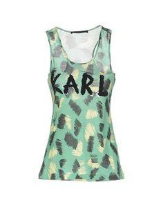 Топ без рукавов Karl Lagerfeld