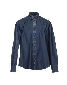 Джинсовая рубашка Harmont&Blaine