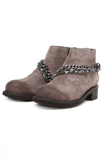 Ботинки с металлическим декором Dino Ricci