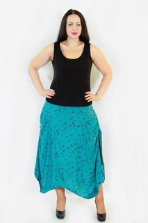 Асимметричная юбка с принтом Svesta