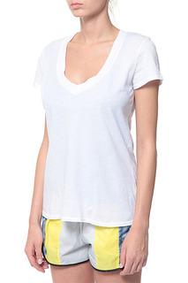 Полуприлегающая футболка с короткими рукавами James Perse