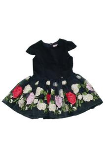 DRESS W/EMBROIDERY Miss Blumarine