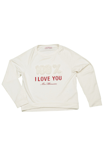 SWEATSHIRT WITH EMBROIDERY Miss Blumarine