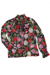 PATTERNED BLOUSE Miss Blumarine