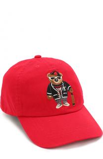 Бейсболка с вышивкой Polo Ralph Lauren