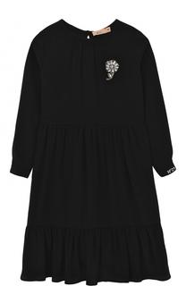 Платье с брошью No. 21