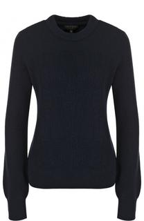 Однотонный кашемировый пуловер с круглым вырезом Rag&Bone Rag&Bone