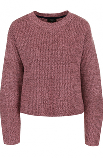 Однотонный шерстяной пуловер с круглым вырезом Rag&Bone Rag&Bone