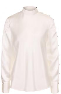 Шелковая блуза с воротником-стойкой Rag&Bone Rag&Bone