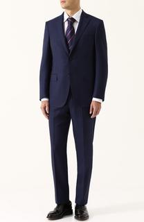 Шерстяной костюм с пиджаком на двух пуговицах Pal Zileri