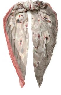 Платок из смеси вискозы и шелка с принтом 813 Ottotredici Annalisa Giuntini