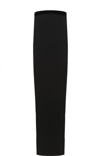 Однотонное шелковое платье-бюстье Tom Ford