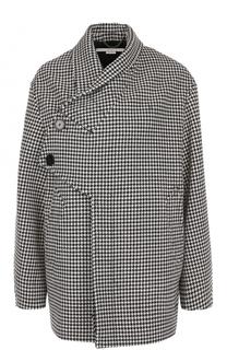 Укороченное шерстяное пальто свободного кроя Stella McCartney