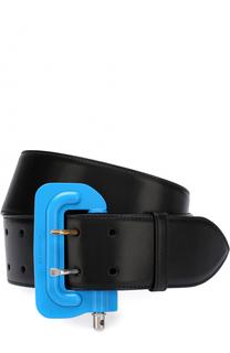 Кожаный ремень Square Buckle Tool с контрастной пряжкой Balenciaga