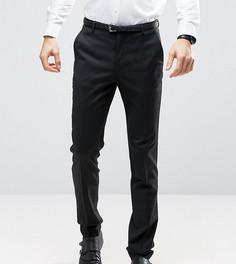 Черные узкие брюки под смокинг ASOS TALL - Черный