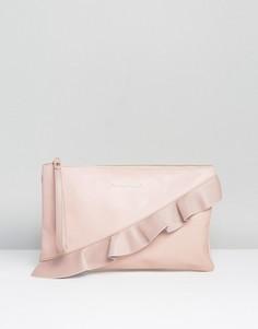 Клатч с отделкой Silvian Heach - Розовый