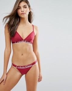 Подарочный набор нижнего белья с широким поясом Calvin Klein CK - Красный