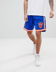 Шорты Mitchell & Ness NBA New York Knicks - Синий
