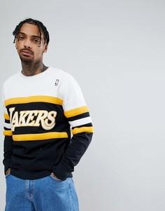 Свитшот Mitchell & Ness NBA L.A. Lakers - Черный