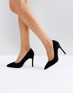 Остроносые туфли на высоком каблуке Carvela - Черный