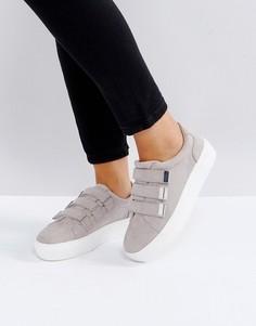 Кроссовки на липучках Miss KG - Серый