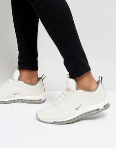 Бежевые кроссовки Nike Air Max 97 Ul 17 918356-100 - Бежевый