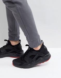 Черные кроссовки Nike Air Huarache Run Ultra 819685-012 - Черный