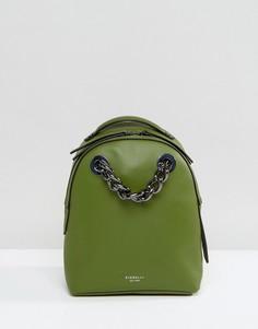 Зеленый мини-рюкзак с цепочкой Fiorelli Anouk - Зеленый